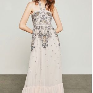 New bcbgmaxAzria whisper gown maxi dress
